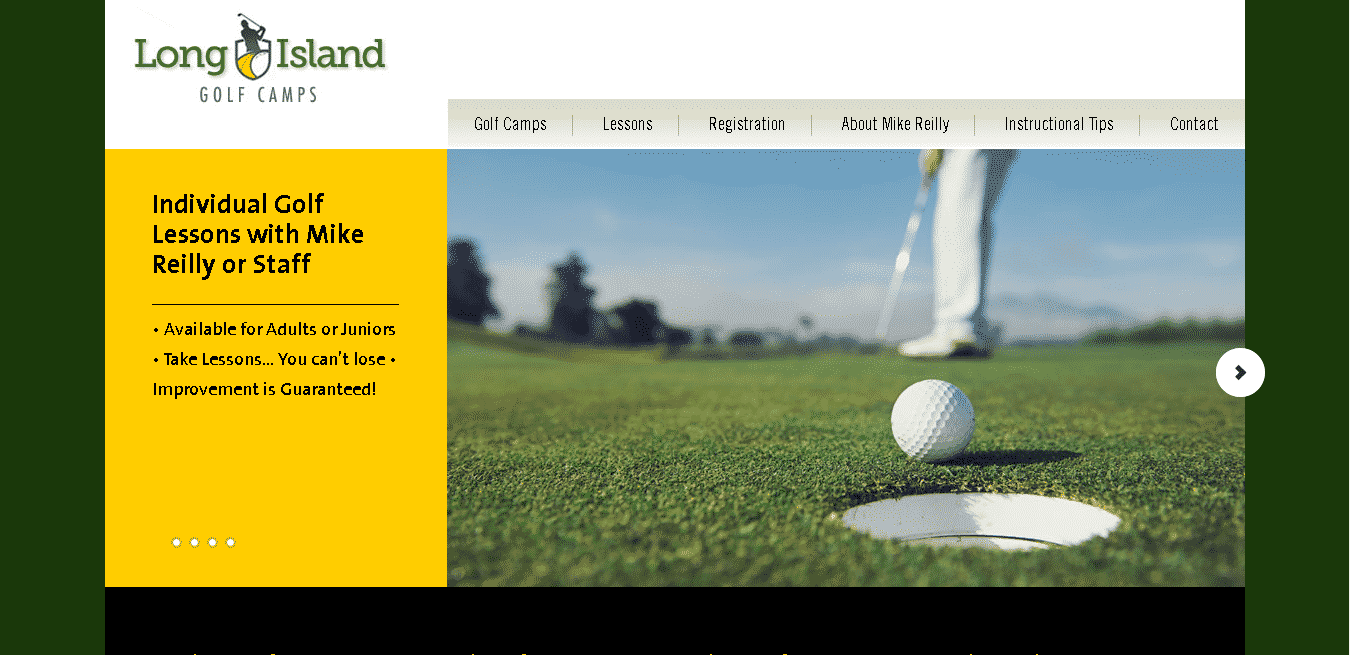Long Island Golf Camps Home page